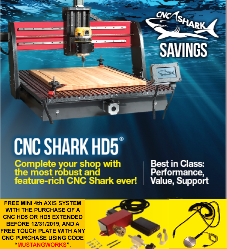 Next Wave Automation HD 5 CNC Machine Ad